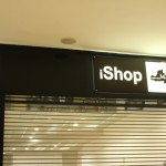 iShop store front