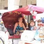 Carriage ride from Plaza Grande to Lucas de Galvez Mercado