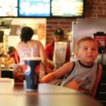 Noah at Burger King