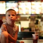 Evan at Burger King
