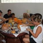 pumpkin carving 1128