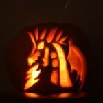 pumpkin carving 1136