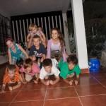 Kids Pyramid pre-dinner activity