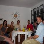 Pre Dinner Drinks at Castillo Blanco