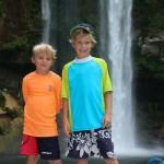 Evan & Noah at Mishol-Ha